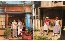 Đôi bạn thân diện đồ ton sur ton, cùng nhau chụp hết loạt cà phê mới toanh ở Đà Lạt nhìn thấy mê