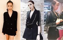 Cùng diện chung mẫu vest cá tính: trong khi Kỳ Duyên kín như bưng, Hòa Minzy lại khoe chân thon dài