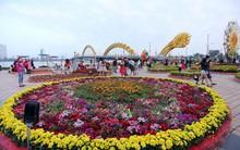 Đường hoa Xuân gần chục tỷ đồng ở Đà Nẵng thu hút người dân và du khách