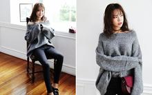 Tết này, nàng điệu đà sẽ thích mê với những biến tấu xinh xắn của chiếc áo len đơn giản