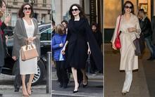 Diện đồ đơn giản nhưng ít ai ngờ Angelina Jolie đã chi gần 500 triệu đồng cho trang phục trong chuyến đi Paris vừa qua