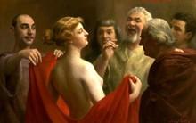 Câu chuyện về cô gái làng chơi thoát án tử nhờ... khoe ngực của thần thoại Hy Lạp
