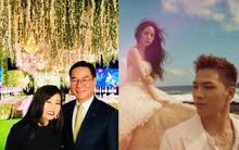 Lộ diện hình ảnh hiếm không gian tiệc cưới của Taeyang (Big Bang) và Min Hyo Rin vào chiều nay?