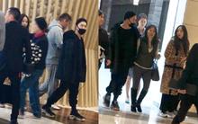 Taeyang cùng Min Hyo Rin lần đầu xuất hiện sau đám cưới và đây là biểu cảm của cặp đôi