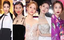 Lan Khuê, Team Sang diện lộng lẫy đến ủng hộ Trương Mỹ Nhân ra mắt phim điện ảnh thứ hai đóng vai chính