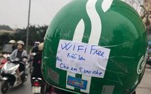 """Đầu tư wifi free rồi đặt pass """"cho em 5 sao"""" như anh Grab này thì chẳng mấy mà thành SIÊU SAO"""
