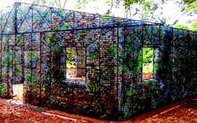 Đột nhập những ngôi nhà cực chất cực xinh làm từ vỏ chai nhựa, Việt Nam cũng có một cái ở ngay Hà Nội