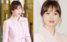 Song Hye Kyo lần đầu xuất hiện chính thức tại Hàn: Đẹp xuất sắc, nhưng mặt và bụng hơi đáng nghi?