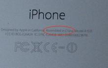 """Vì sao iPhone luôn có dòng chữ """"Lắp ráp ở Trung Quốc"""" mà không phải ở Mỹ?"""