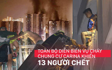 Nhìn lại toàn bộ diễn biến và những câu chuyện ám ảnh trong vụ cháy kinh hoàng ở chung cư Carina khiến 13 người thiệt mạng