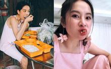 """Bình thường khí chất ngời ngời mà khi ở bên đồ ăn sao Việt bỗng """" thần thái bá đạo"""" lạ thường"""