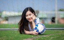 Nữ sinh fan Real Madrid xinh đẹp hút hồn bao trái tim yêu bóng đá