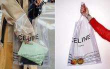Trông hệt như túi nilon đi chợ nhưng túi nhựa trong có giá hơn 20 triệu của Celine đang được các tín đồ thời trang thích điên cuồng