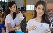 """Xao xuyến trước loạt ảnh đẹp tựa """"thần tiên tỷ tỷ"""" của HH chuyển giới Thái Lan Yoshi trong ngày khám nghĩa vụ"""