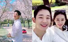 """Nhanh hơn cả Song Song, Jung Hae In chưa chi đã rủ """"chị đẹp"""" Son Ye Jin cùng đi ngắm hoa anh đào vào hôm nay?"""