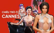 """Khi thảm đỏ Cannes trở thành """"cái chợ"""" của những mỹ nhân Âu - Á không ai biết tên """"bon chen"""" bằng được"""