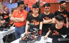 """Sinh viên 6 trường đại học hàng đầu Việt Nam đua công nghệ tự hành tại chung kết """"Cuộc đua số"""""""