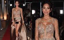 Không mặc nội y, sao nữ lộ cả vùng kín phản cảm tại LHP Cannes 2018