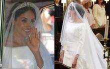 Tân Công nương Meghan Markle chọn váy đơn giản của Givenchy chứ không phải mẫu váy lộng lẫy 3 tỷ như đồn đoán