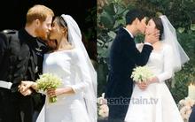 Rần rần trước loạt chi tiết trùng khớp giữa đám cưới Hoàng Gia Anh và hôn lễ thế kỷ của Song Song