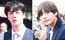 """Nhan sắc gương mặt đẹp trai nhất thế giới và 2 """"visual"""" của BTS tại thảm đỏ Billboard: Có đẳng cấp như danh hiệu?"""