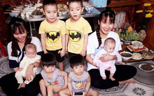 Chuyện thật như đùa: Gia đình có gene di truyền sinh đôi, 4 lần đi đẻ ra 8 đứa trẻ con