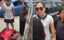 """Nữ tài xế đất cảng tuyên bố """"con người không quan trọng"""" sau va chạm giao thông tường trình do bị kích động mạnh, xin rút kinh nghiệm"""