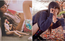 Cô gái Nhật Bản tạo dáng đôi với búp bê trong bộ ảnh vừa đẹp vừa kỳ quặc đến rùng mình