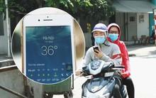 Chùm ảnh: Hôm nay Hà Nội nắng nóng gắt nhất từ đầu mùa, người dân vật vã khi ra đường