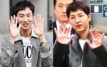 Hình ảnh đối lập của cặp bạn thân: Song Joong Ki được vợ vỗ béo tròn, Lee Kwang Soo thì gầy như bộ xương di động