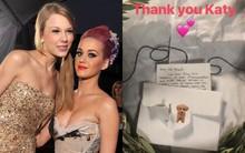 Taylor Swift hào hứng khoe vừa được Katy Perry viết thư xin lỗi, chính thức kết thúc mâu thuẫn