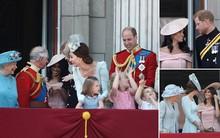 """Meghan lần đầu được có mặt trên chiếc """"ban công huyền thoại"""" nhân dịp sinh nhật lần thứ 92 của Nữ Hoàng"""