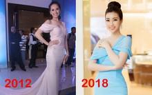 Bộ cánh mới nhất của Hoa hậu Mỹ Linh giống váy hiệu từ 6 năm trước của Mai Phương Thuý đến lạ