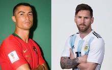 Ảnh chân dung cực nét của Ronaldo, Messi, Neymar và các ngôi sao lớn nhất World Cup 2018