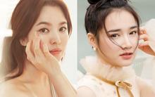 """Nhan sắc Song Hye Kyo và nữ chính tin đồn """"Hậu Duệ Mặt Trời"""" Nhã Phương: Chưa nhận vai đã bị đặt lên bàn cân"""