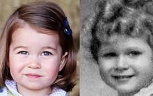 """Những minh chứng cho thấy công chúa Charlotte là """"bản photocopy"""" giống hệt Nữ hoàng từ thần thái cho đến ngoại hình"""