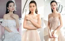 Hoa hậu Mỹ Linh lần đầu lên đồ tới 3 tỷ, Nhã Phương và Jun Vũ đẹp mong manh trên thảm đỏ NTK Chung Thanh Phong
