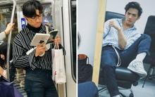 Crush anh chàng đọc sách trên tàu điện ở Nhật, về xem Facebook mới biết là trai Việt lại còn rất bảnh!