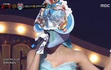 """Mỹ nữ sexy nhưng bị """"bơ đẹp"""" của AOA lộ danh tính trên show hát giấu mặt"""