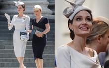 Angelina Jolie xuất hiện cực xinh đẹp và quý phái tại sự kiện của Hoàng gia Anh