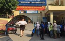 Xác định được người phụ nữ bê phở vào điểm thi trường THCS Phan Đình Giót