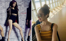 Jiyeon mảnh mai thì ai cũng biết nhưng phải đến khi mặc đồ kiểu này người ta mới thấy cô gầy đến mức đáng báo động