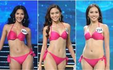 Cận cảnh vóc dáng cực nóng bỏng của dàn thí sinh HHHV Việt Nam trong phần thi bikini tại đêm chung kết