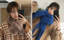 Trời rét thế này ra đường không thể thiếu khăn quàng, và đây là 4 kiểu khăn trendy nhất bạn nên sắm
