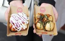 Cuối tuần đi chợ đêm nhất định đừng bỏ qua món takoyaki đựng trong hộp mèo thần tài siêu xinh