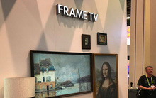 [CES 2018] Hãng TV Trung Quốc ngang nhiên sao chép TV khung tranh của Samsung, tên gần giống: Frame TV