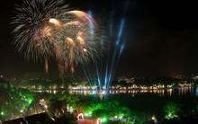 30 điểm bắn pháo hoa tại Hà Nội Tết Nguyên đán 2018 là những địa điểm nào?