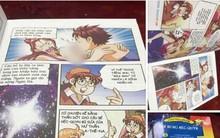 Truyện tranh thiếu nhi của NXB Kim Đồng với những hình ảnh phản cảm vẫn được bày bán dù đã từng bị phản ứng dữ dội