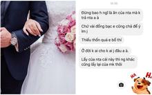 """Đi công tác không kịp về dự đám cưới, anh chàng chết điếng khi nhận được tin nhắn đòi phong bì của vợ bạn: """"Tiền đấy vợ chồng em bố thí, anh nuốt trôi nhé!"""""""