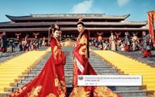 """Đông Cung đại hôn xa hoa tột bậc, khán giả nghẹn lòng: """"Hoa lệ mấy cũng không bằng bái đường giản dị ở thảo nguyên xưa!"""""""